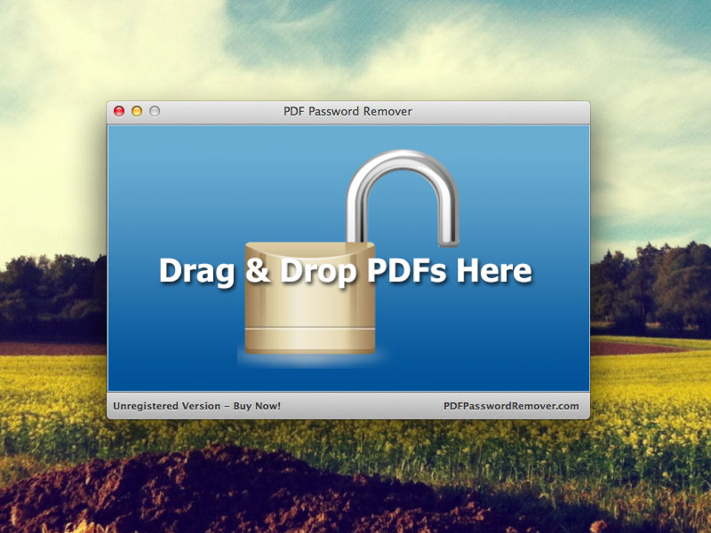 PDF Password Remover Mac 1.0.6.8